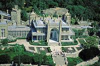 Aerial view - Alupka palace - Around yalta - Old Palace - Crimea - Ukraine