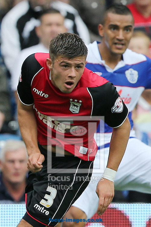 Picture by Richard Calver/Focus Images Ltd +447792 981244<br /> 17/08/2013<br /> Aaron Cresswell of Ipswich Town during the Sky Bet Championship match against Queens Park Rangers at the Loftus Road Stadium, London.