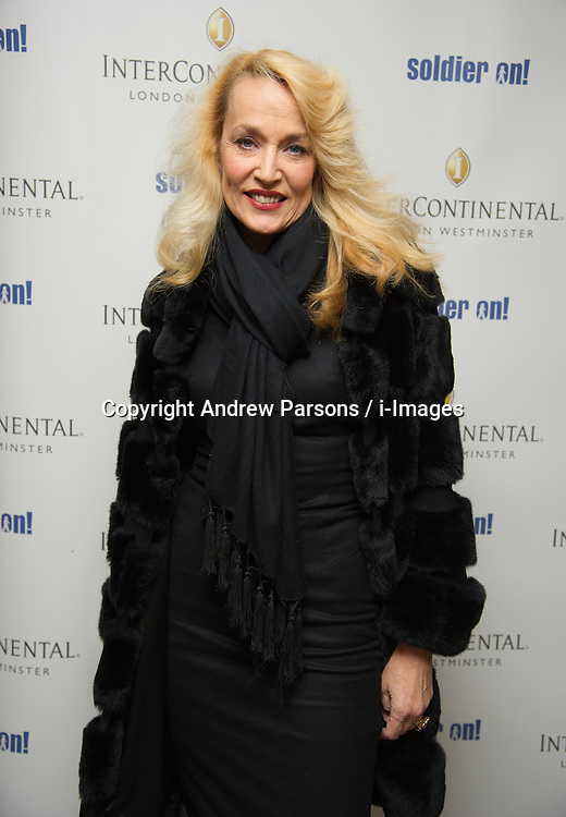 Jerry Hall attend the Opening of the Westminster InterContinental Hotel, Thursday February 28, Photo By Andrew Parsons / i-Images
