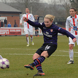 Arsenal Ladies v ASD Torres | Champions League | 20 March 2013