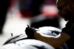 September 29, 2018 - Sochi, Russia - Motorsports: FIA Formula One World Championship 2018, Grand Prix of Russia, .Pirelli, tire, tires, tyre, tyres, wheel, wheels, Reifen, Rad, feature  (Credit Image: © Hoch Zwei via ZUMA Wire)