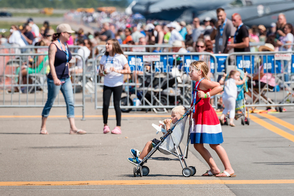 New Windsor, New York - Scenes from the New York Air Show at Stewart International Airport on Sept. 4, 2016.