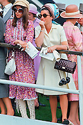 Racegoers at the Derby, England, United Kingdom