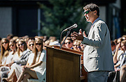 SHOT 6/2/16 8:50:28 AM - Colorado Academy Class of 2016 Commencement ceremonies at the Denver, Co. private school. The school graduated 88 seniors this year and the event capped a week filled with awards, tributes, and celebrations for the outgoing senior class. (Photo by Marc Piscotty / © 2016)