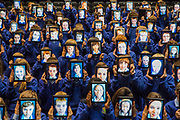 No Repro Fee<br /> 27/08/2013<br /> 50 Irish schools and over 5,000 students to use Wriggle 'digital' schoolbags&nbsp;<br /> Picture shows over 100 first year students from St Joseph's Secondary School in Rush, Co. Dublin who received their Wriggle digital Schoolbags at the Helix.<br /> Pic: Naoise Culhane - no fee<br /> Wriggle, Ireland's leading digital learning specialists today announced that they have&nbsp;more than doubled roll-out to schools with an additional 25 schools joining the Wriggle 1:1 mobile learning programme this academic year. 50 schools and more than 5,000 students throughout the country will now use mobile devices and digital books in place of traditional textbooks. Wriggle was founded in 2012 as the digital learning arm of Irish IT services firm Typetec following 20+ years as a trusted partner to the education sector.<br /> Pic: Naoise Culhane / No Fee<br /> For Business Desk