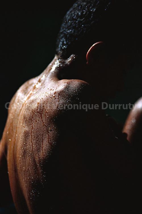 """Book """"Fleur de peau"""", p.55 Picture taken in the natural pool of Isalo, in Madagascar...Livre """"Fleur de peau"""", p.55.Photo prise dans la piscine naturelle de l'Isalo à Madagascar."""