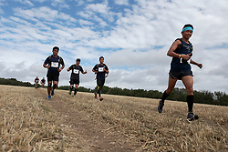 UK ENGLAND 29JUL17 - Teams arrive at checkpoint 3 near Littleton Farm during the Trailwalker 2017 challenge across the South Downs, England.<br /> <br /> jre/Photo by Jiri Rezac<br /> <br /> &copy; Jiri Rezac 2017