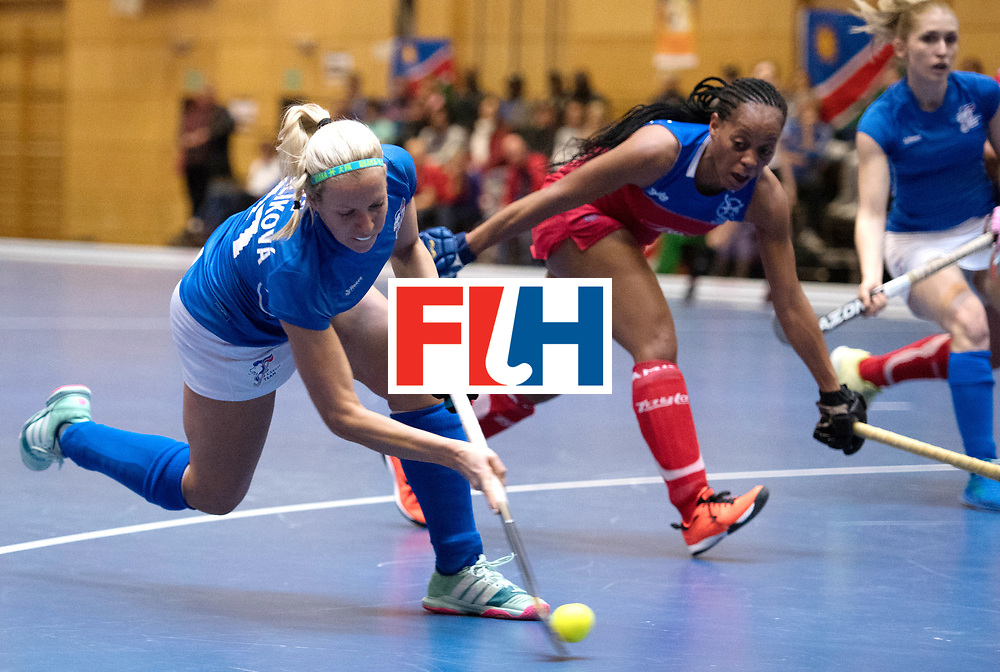 BERLIN - Indoor Hockey World Cup<br /> Czech Republic - Namibia<br /> foto: MEJZLIKOVA Tereza<br /> WORLDSPORTPICS COPYRIGHT FRANK UIJLENBROEK