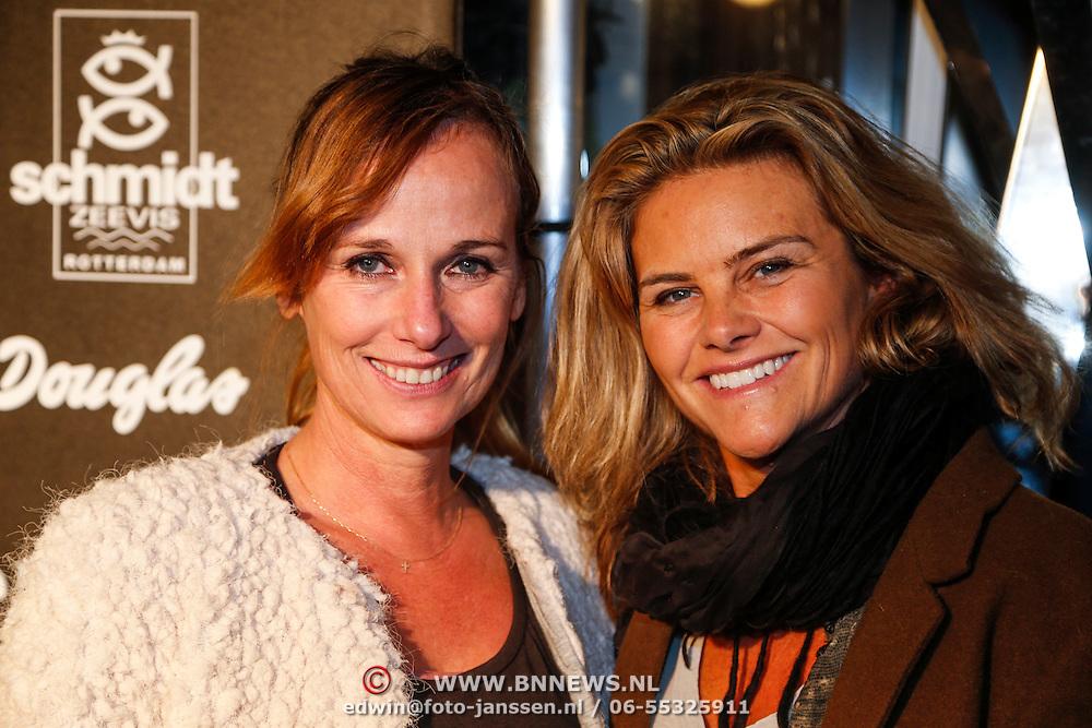 NLD/Rotterdam/20130119 - Silk party 2013, Patty Zomer en Judith Wiersma