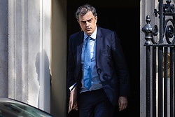 © Licensed to London News Pictures. 02/05/2019. London, UK. Conservative Chief Whip Julian Smith leaves 10 Downing Street. Photo credit: Rob Pinney/LNP