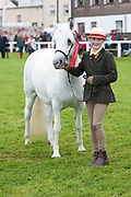 20/08/2015 Camila Coyne winner of the Young Handlers Class (aged 10-15 years) with  Rockfield Lass at the Connemara Pony Show 2015 in Clifden Co. Galway. Photo:Andrew Downes