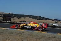 Bertrand Baguette, Indy Grand Prix of Sonoma, Infineon Raceway, 8/22/2010