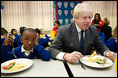 FEB 27 2013  Boris Johnson visits Reach Academy Feltham