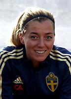 International Women's Friendly Matchs 2019 / <br /> Womens's Algarve Cup Tournament 2019 - <br /> Portugal v Sweden 2-1 ( Municipal Stadium - Albufeira,Portugal ) - <br /> Linda Sembrant of Sweden