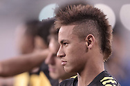 EAST RUTHERFORD, USA - August 08, 2010 : Meadowlands Stadium: Neymar during his first game for Brazil National Team, when he scored his first goal with BNT jersey.  (Photo:Caio Guatelli)