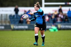 Lark Davies of England Women - Mandatory by-line: Robbie Stephenson/JMP - 10/02/2019 - RUGBY - Castle Park - Doncaster, England - England Women v France Women - Women's Six Nations