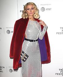Paris Hilton at 'The American Meme' premiere in New York. 27 Apr 2018 Pictured: Paris Hilton. Photo credit: MEGA TheMegaAgency.com +1 888 505 6342