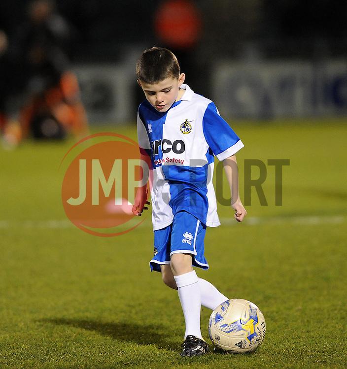 Mascot- Photo mandatory by-line: Neil Brookman/JMP - Mobile: 07966 386802 - 24/02/2015 - SPORT - Football - Bristol - Memorial Stadium - Bristol Rovers v Braintree - Vanarama Football Conference