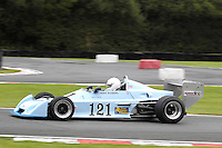 HSCC Gold Cup Oulton Park, Cheshire, United Kingdom.  28th-29th August 2011.  Race 12 HSCC Derek Bell Trophy.  121 Terry Fisher - Chevron B40. World Copyright: Peter Taylor/PSP. Copy of publication required for printed pictures. Every used picture is fee-liable.