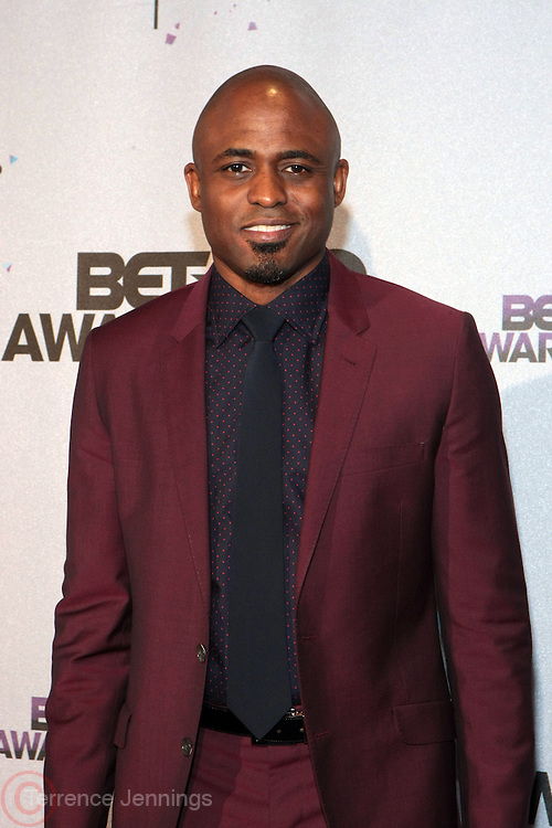 Los Angeles, CA-June 30:  Comdien Wayne Brady backstage at the 2013 BET Awards Winners's Room Inside held at LA Live on June 30, 2013 in Los Angeles, CA. ©Terrence Jennings/Retna, Ltd