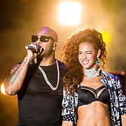 MON/Monaco/20140527 -World Music Awards 2014, Natalie La Rose en Flo Rida