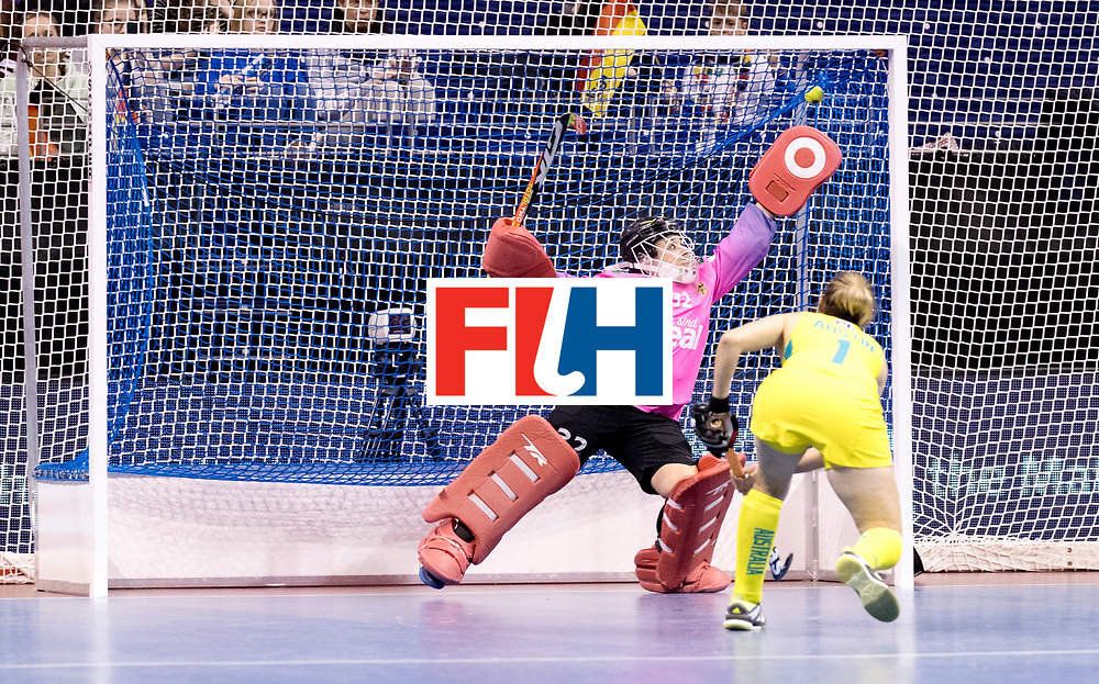 BERLIN - Indoor Hockey World Cup<br /> Women: Germany  - Australia<br /> foto: equalizing ps.<br /> WORLDSPORTPICS COPYRIGHT FRANK UIJLENBROEK
