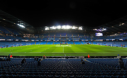 A general view of the Etihad Stadium - Mandatory byline: Matt McNulty/JMP - 27/01/2016 - FOOTBALL - Etihad Stadium - Manchester, England - Manchester City v Everton - Capital One Cup Semi-final