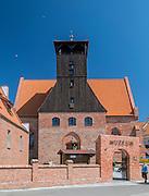 Hel (województwo pomorskie), 20.07.2016. Budynek Muzeum Rybołówstwa w Helu.