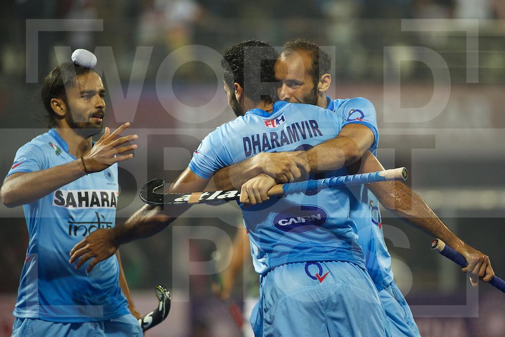 20 IND vs PAK : Dharamvir Singh congratulates by its teammates