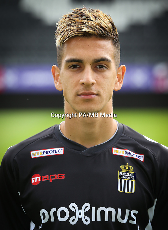 Charleroi's Jessy Galvez-Lopez pictured during the 2015-2016 season photo shoot of Belgian first league soccer team Sporting de Charleroi, Tuesday 14 July 2015 in Charleroi.