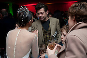 ESTEBAN BERLANGA; BEGONA CAO; ANDY SERKIS , English National Ballet launches its Christmas season with a partyu before s performance of The Nutcracker at the Coliseum.  St. Martin's Lane Hotel.  London. 16 December 2009 *** Local Caption *** -DO NOT ARCHIVE-© Copyright Photograph by Dafydd Jones. 248 Clapham Rd. London SW9 0PZ. Tel 0207 820 0771. www.dafjones.com.<br /> ESTEBAN BERLANGA; BEGONA CAO; ANDY SERKIS , English National Ballet launches its Christmas season with a partyu before s performance of The Nutcracker at the Coliseum.  St. Martin's Lane Hotel.  London. 16 December 2009