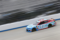 October 5, 2018 - Dover, Delaware, United States of America - Darrell Wallace, Jr (43)  takes to the track to practice for the Gander Outdoors 400 at Dover International Speedway in Dover, Delaware. (Credit Image: © Justin R. Noe Asp Inc/ASP via ZUMA Wire)