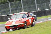 HSCC Gold Cup Oulton Park, Cheshire, United Kingdom.  28th-29th August 2011.  Race 3 HSCC Historic Road Sports. Supported by Moss Europe Ltd. 6 Larry Kennedy Lotus Elan S4. World Copyright: Peter Taylor/PSP. Copy of publication required for printed pictures. Every used picture is fee-liable.