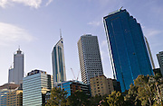 Perth, Western Australia.Perth is the capital city of Western Australia which is at the forefront of the resources boom that underpins the Australian economy. The modern skyline reflects the wealth being generated in the remote mines around WA and the extensive natural gas fields in the Indian Ocean.