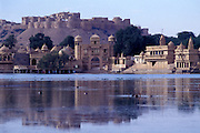 Jaisalmer, the walled fortress city in the Thar Desert, Rajasthan