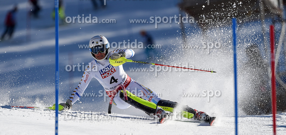 14.02.2015, Birds of Prey, Beaver Creek, USA, FIS Weltmeisterschaften Ski Alpin, Vail Beaver Creek 2015, Damen, Slalom, 2. Durchgang, im Bild Frida Hansdotter (SWE, 2. Platz) // second placed Frida Hansdotter of Sweden in action during 2nd run of the ladie's Slalom of FIS Ski World Championships 2015 at the Birds of Prey in Beaver Creek, United States on 2015/02/14. EXPA Pictures © 2015, PhotoCredit: EXPA/ Jonas Ericson