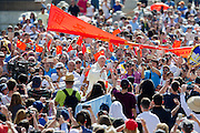Vatican City june 22th 2016, weekly general audience. In the picture Pope Francis