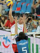 WROCLAW 26/06/2010.VOLLEYBALL WORLD LEAGUE 2010.INTERCONTINENTAL ROUND.POLSAND v ARGENTINA.BARTOSZ KUREK /POL/.FOT. PIOTR HAWALEJ / WROFOTO