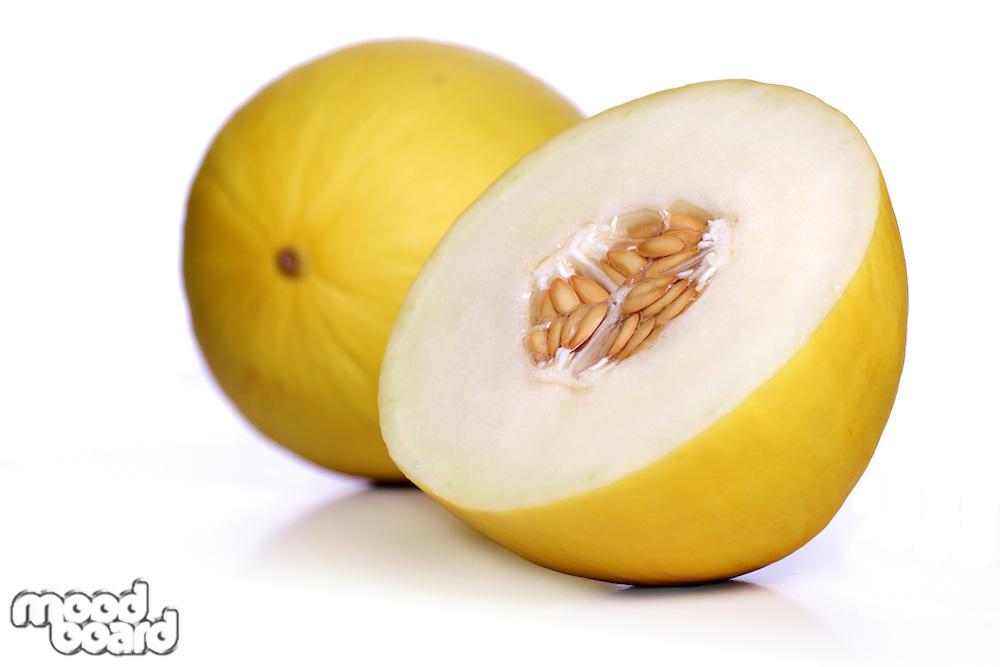 Melon on white background - studio shot