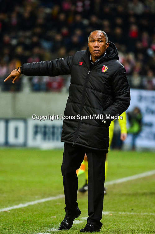 Antoine KOMBOUARE - 25.01.2015 - Reims / Lens  - 22eme journee de Ligue1<br /> Photo : Dave Winter / Icon Sport *** Local Caption ***
