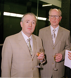 Artistic duo GILBERT & GEORGE at a dinner in <br /> London on 3rd May 2000.ODH 128 2OLO
