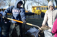 Howard University students joined hundreds across the country in celebrating the life and legacy of Dr. Martin Luther King, Jr. during the MLK Weekend of Service, Jan. 18 – 21. Students participated in multiple events including the MLK Memorial Beautification Project, sponsored by IMPACT, and the Emergency Preparedness Planning Workshop at the Dunbar Senior Citizen Building, sponsored by Americoprs Vista and the Office of the Mayor