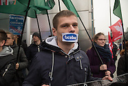 Poland: Protest of far-right against Facebook in Poland, 5 Nov. 2016