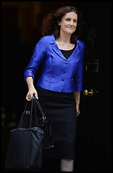 Theresa Villiers  Secretary of State for Northern Ireland leaving  No10 Downing Street after the Government's weekly Cabinet meeting, London, United Kingdom. Tuesday, 3rd September 2013. Picture by Andrew Parsons / i-Images