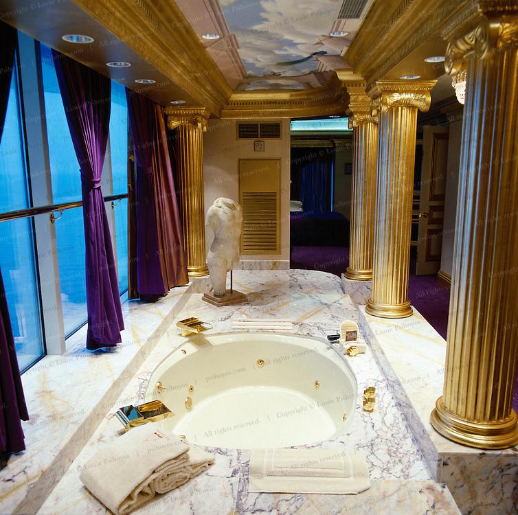The Trump Taj Mahal Hotel High-Roller Suite in Atlantic City.