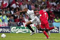 Fotball<br /> Foto: Dppi/Digitalsport<br /> NORWAY ONLY<br /> <br /> FOOTBALL - UEFA CUP 2005/2006 - FINALE - MIDDLESBROUGH FC v SEVILLA FC - 10/05/2006<br /> <br /> <br /> FREDERIC KANOUTE (SEV) / GEORGE BOATENG (MID)