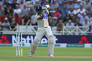 Ajinkya Rahane of India during the 3rd International Test Match 2018 match between England and India at Trent Bridge, West Bridgford, United Kingdon on 18 August 2018.