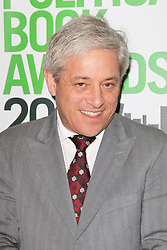 © Licensed to London News Pictures. 19/03/2014, UK. John Bercow, Political Book Awards, BFI IMAX, London UK, 19 March 2014. Photo credit : Richard Goldschmidt/Piqtured/LNP