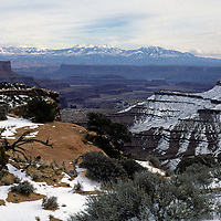 Scenic landscape of Canyonlands National Park near Moab, Utah.