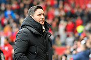 Bristol City manager Lee Johnson during the The FA Cup 5th round match between Bristol City and Wolverhampton Wanderers at Ashton Gate, Bristol, England on 17 February 2019.